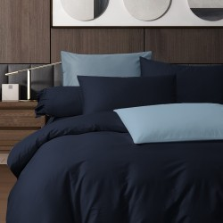 King Koil Colour Palette Fitted Sheet Set SC01001 (Navy Blue)