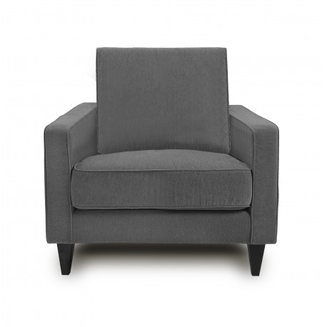 King Koil Denver 1 Seater Sofa (Grey)