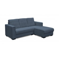 King Koil Shelton Fabric L-Shape Sofa (Blue)
