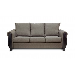 King Koil Ocala 3 Seater Sofa (Caramel)
