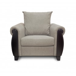 King Koil Ocala 1 Seater Sofa (Latte)