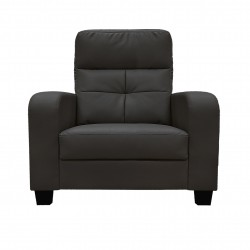 King Koil Trenton PVC 1 Seater Sofa