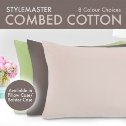 Stylemaster Combed Cotton Bolster Case
