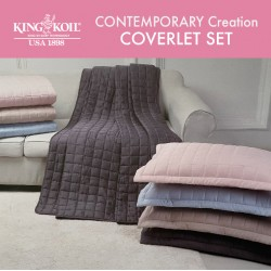 King Koil Contemporary Creation Coverlet Set